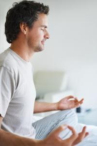 man meditatie
